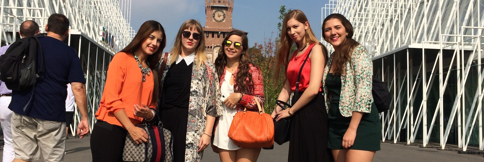 SRISA Students in Milan During the Fashion Week
