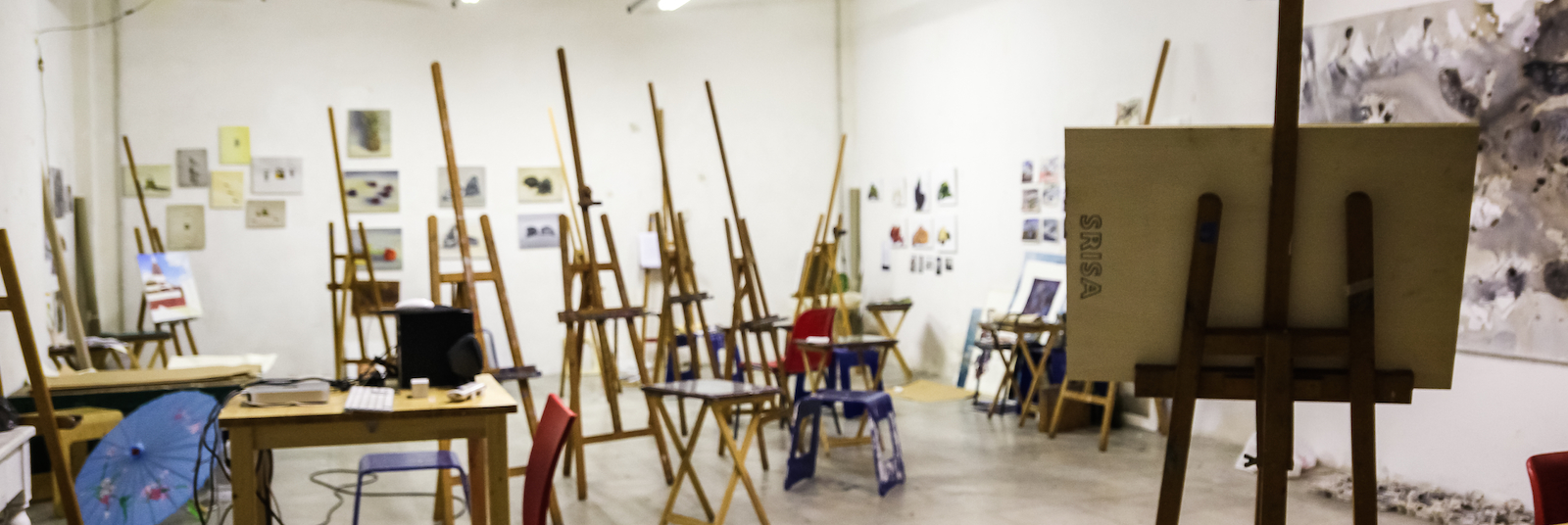 The SRISA Painting and Drawing Studio